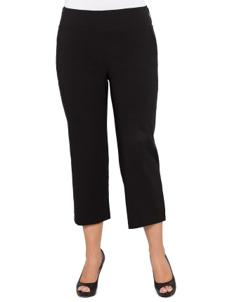 Bengaline Three-quarter Length Pull On Pant