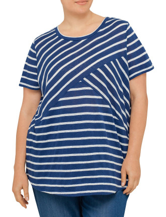 Tee Diagonal Stripe