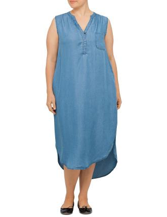Chambrey Dress