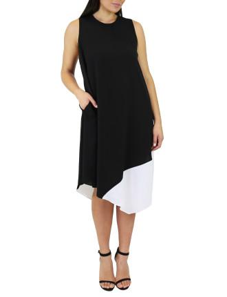 Colour Blocked Dress