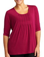 Pleat Front Top $14.95 - $49.95