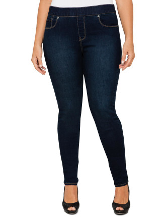 Pull On Legging Denim