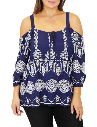 Blue Lagoon Top