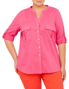 Twin Pocket Cotton Voile Shirt $109.00