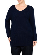 COTTON RIBBED DETAIL KNIT $119.00