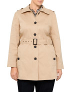 CLASSIC TRENCH WITH STRIPE LINING $179.00