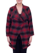 COOL CHANGE DRAPED FRONT JACKET $189.00