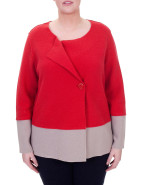COOL CHANGE BOILED WOOL 2 COLOUR JACKET $149.00