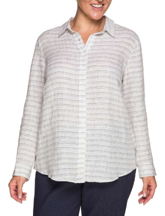 Yarn Dyed Stripe Shirt