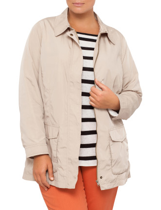 Single Breasted Jacket with Pockets