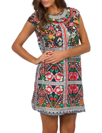Elaborate Tunic Dress