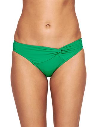 Solids Twist Front Pant