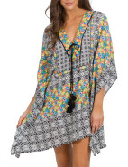 ANALOGY V-NECK KAFTAN $99.95