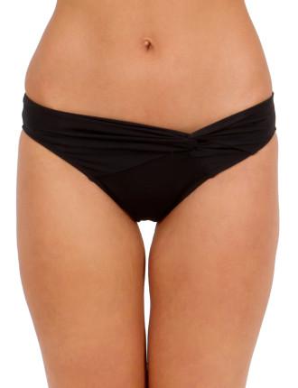 Solids Twist Front Regular Pant