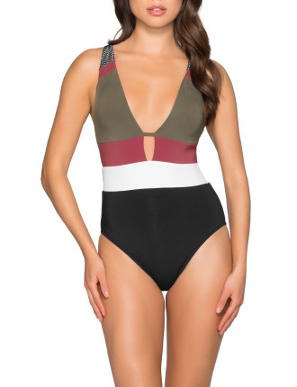 Ultra Luxe Plunge One Piece