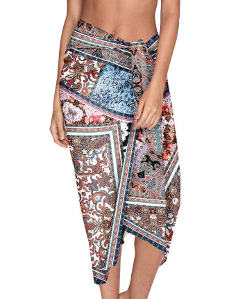 Poetic Placement Print Sarong