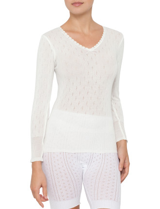 Poly Viscose Thermal L/S Spencer