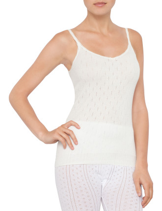Poly Viscose Thermal S/L Camisole