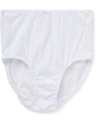 Pure Comfort Cotton Rib Full Brief