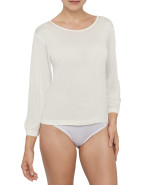 Knitted Silk Long Sleeve Crew $84.95