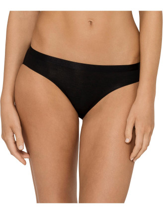 Ck Black Structure Cotton Bikini