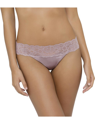 Seductive Comfort with Lace Thong
