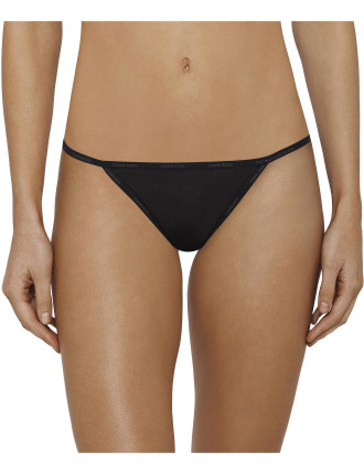 Sheer Marq Thong String