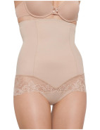High Waisted Brief With Lace $79.95