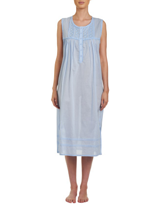 Sleeveless Midlength Nightie