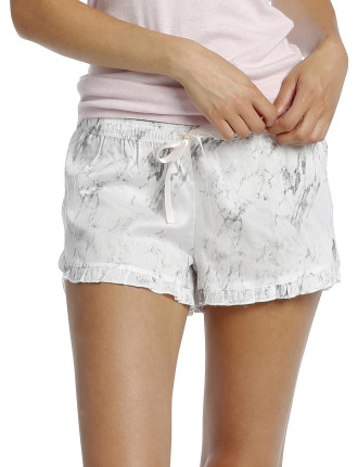 Marble Frilled Boxer