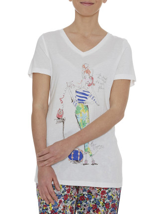 Emma French Girl Tee