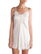 Silk Chemise With Pintucks $119.00