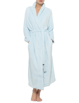 Luxury Robe Shawl Collar Wrap