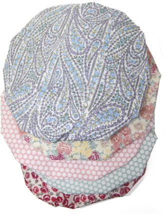 Shower Cap in Assorted Fabrics