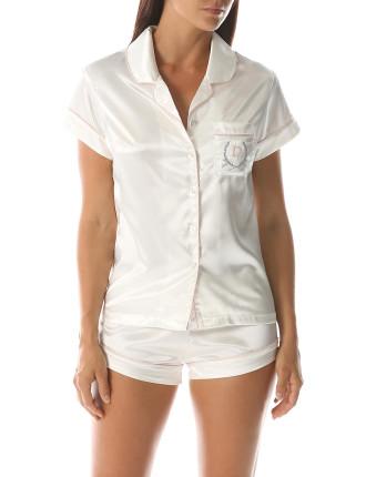 Monogram Pyjama Set Ivory