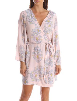 Harlow Short Kimono Robe