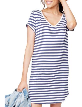 Relaxed T Shirt Dress