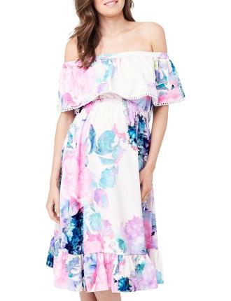 Gemma Watercolour Dress