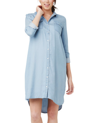 Weekend Shirt Dress