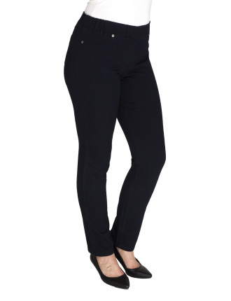 Pull On Stretch Jean Pant