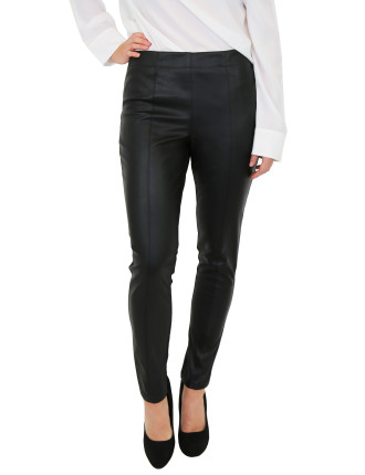 Pu Leather Look Pant