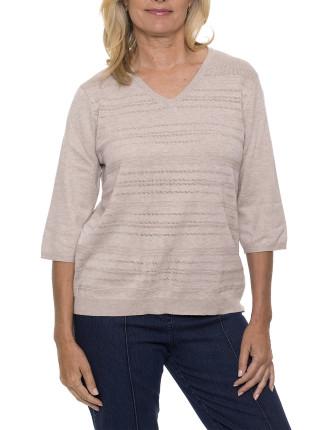 Nira Elbow Length Knitwear