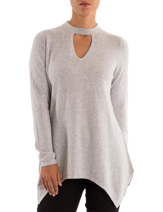 Keyhole Swing Pullover