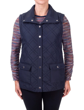 Blue Dawn Quilted Vest