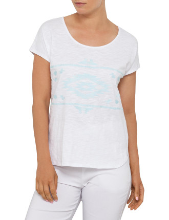 WATERMILL EMBROIDERED T-SHIRT