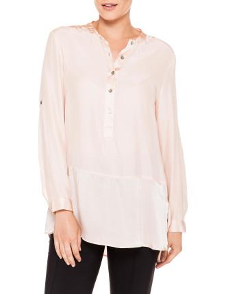 Crepe Tunic Shirt