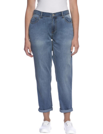 TRANQUILITY RELAXED BOYFRIEND JEANS