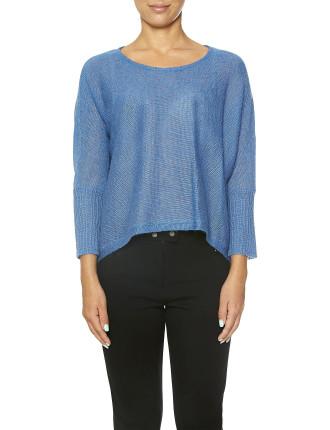 Dolman Sleeve Mohair Sweater