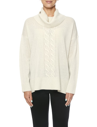 Cowl Neck Cable Front P/O