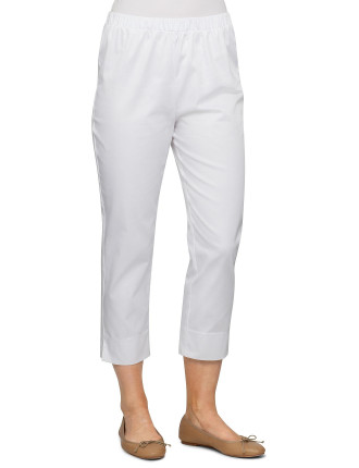 Sateen Pull On Pant